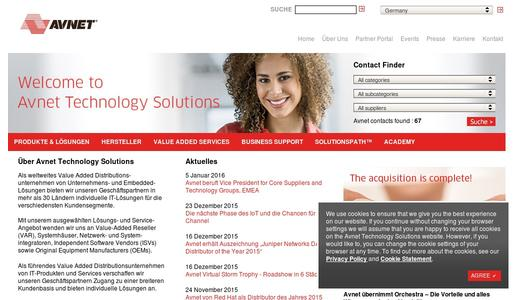 "Weitere Infos zu ""Avnet beruft Vice President for Core Suppliers and Technology Groups, EMEA"""