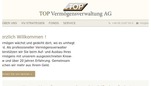 TOP AG - Homepage