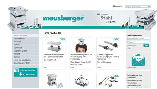 "Weitere Infos zu ""Save time and money with Meusburger"""