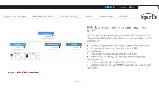 "Weitere Infos zu ""Ingentis Summary: HR in the Cloud"""