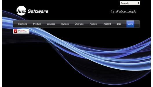 Website Just Software AG