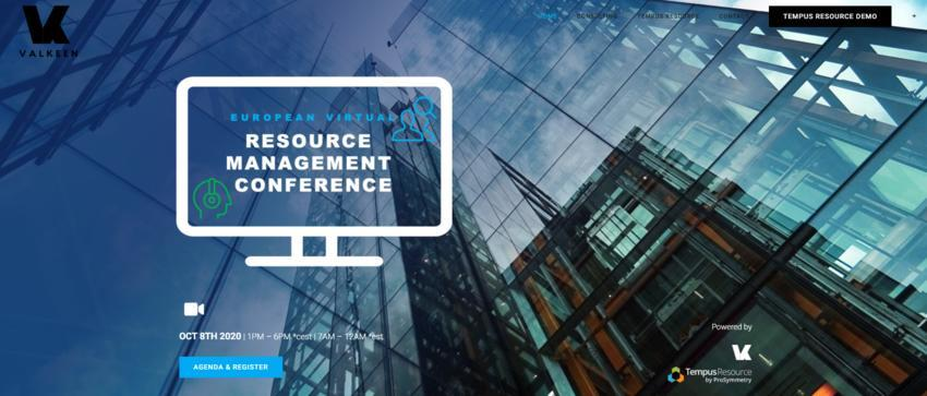 EUROPEAN VIRTUAL RESOURCE MANAGEMENT CONFERENCE