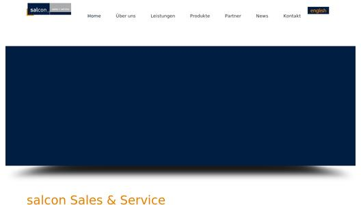 Website salcon Sales & Service