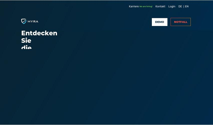 Website MyraCloud