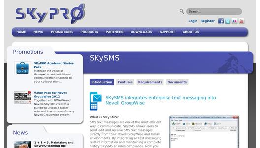 SKySMS from SKyPRO