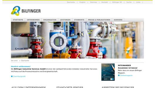 "Weitere Infos zu ""Scaffolding innovation:  Bilfinger Industrial Services using magnetic scaffolding anchoring for the first time"""