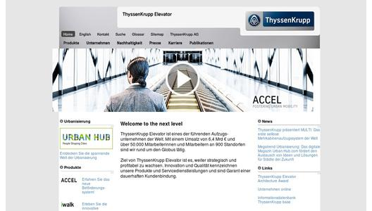 "Weitere Infos zu ""ThyssenKrupp Elevator remains on growth track: UK acquisition strengthens the company's global service network"""