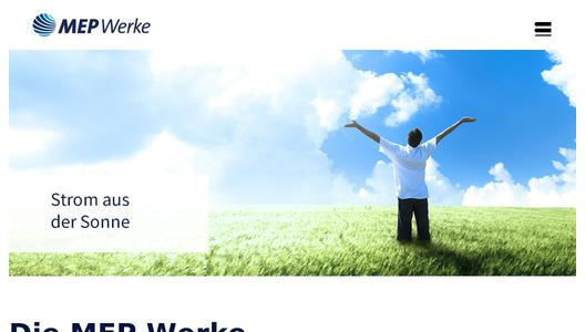 Website of MEP Werke