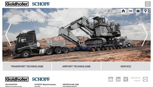 "Weitere Infos zu ""STZ-VP (285): Goldhofer's big boy among the semi lowloaders – Easy. Extreme. Flexible."""