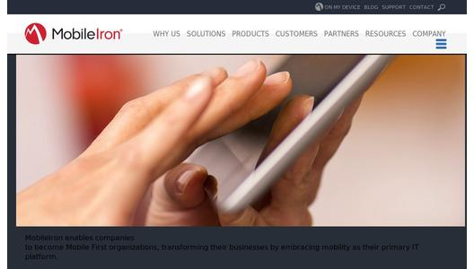 MobileIron - Enterprise Mobility Management