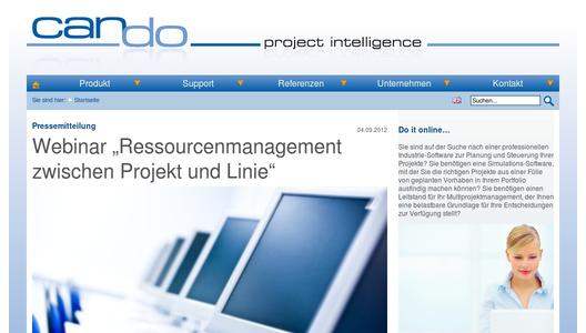 Professionelle Projektmanagement-Software von Can Do