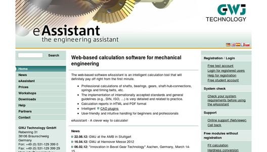 eAssistant - the engineering assistant