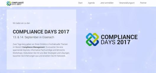 Compliance Days 2017