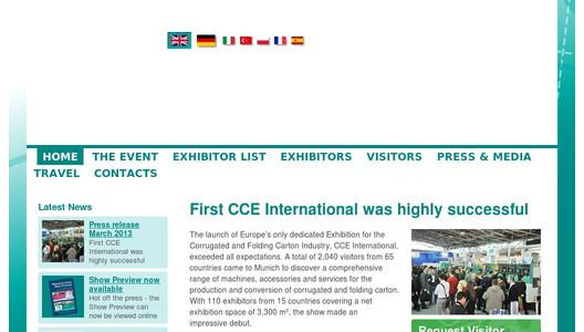 More Information on CCE International