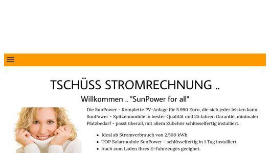 sunpower quattro   solaranlage plug amp play f r deutsche