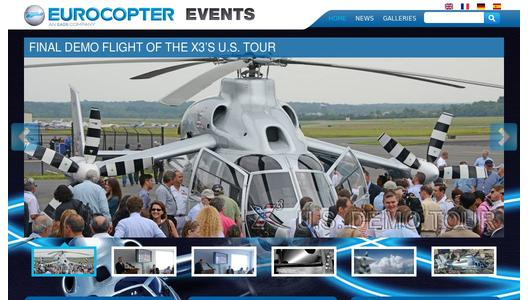 "Weitere Infos zu ""Eurocopter's revolutionary X3 helicopter arrives in Washington for final leg of aircraft's U.S. tour"""