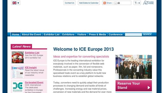 More information on ICE Europe 2013