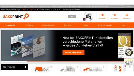 "Weitere Infos zu ""New: Paper carrier bags from SAXOPRINT"""