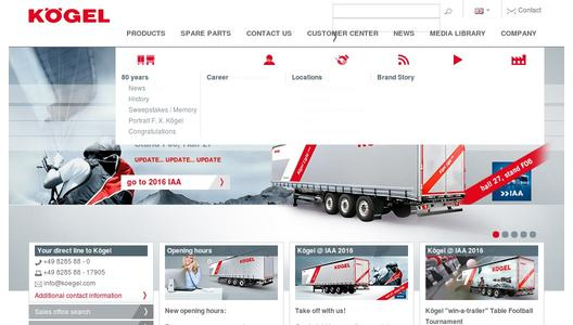 "Weitere Infos zu ""Kögel Cargo Coil Rail with FlexiUse body and RoRo equipment"""
