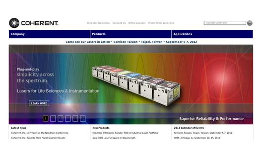 "Weitere Infos zu ""Coherent Introduces High Power Single Frequency OPSLs"""