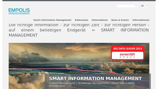 "Weitere Infos zu ""Empolis Smart Diagnostics is KMWorld's ""Trend-Setting Product of the Year"""""