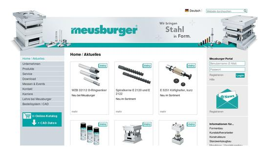 "Weitere Infos zu ""NEW at Meusburger: E 3130 Slide unit with newly developed guiding system"""