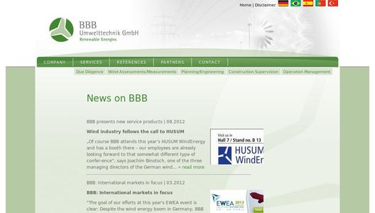 "Weitere Infos zu ""BBB at EWEA Copenhagen - International markets in focus"""