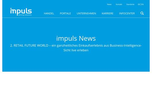 News impuls Corporate Website