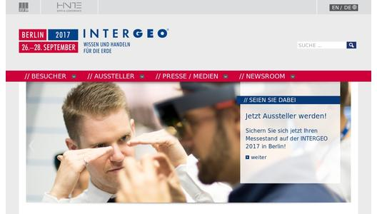 INTERGEO - Global hub for the geospatial community