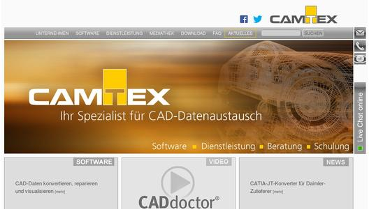 CAMTEX Website