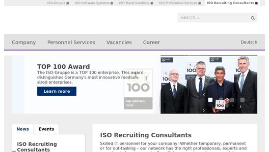 ISO Recruiting Consultants