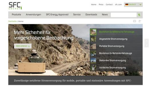 "Weitere Infos zu ""SFC Energy receives German Federal Army order for the extension of their portable MKEV energy supply"""