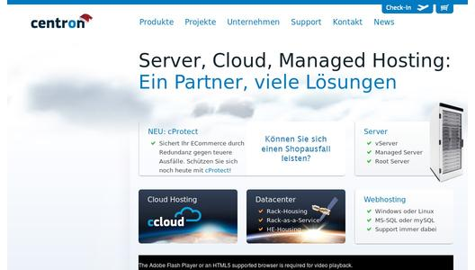 centron - Managed Server - Managed Cluster - Ihr IT-Outsourcing Partner
