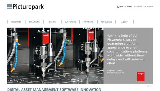 Picturepark Digital Asset Management Software