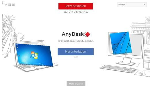 Website AnyDesk