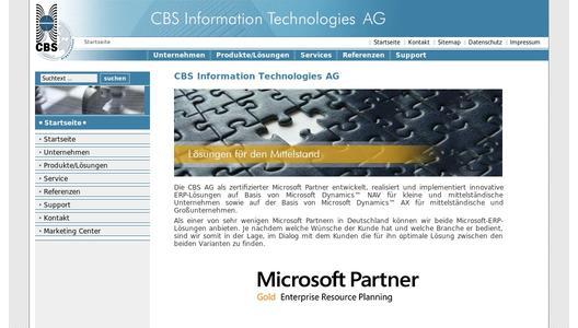 CBS Information Technologies AG