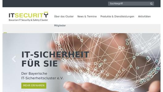 "Weitere Infos zu ""oneclick AG becomes a member in the Bavarian IT Security Cluster and pools competencies"""