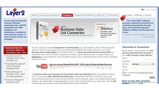 Business Data List Connector - More information