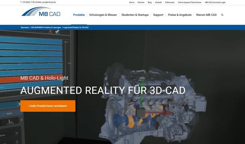 Augmented Reality für 3D-CAD