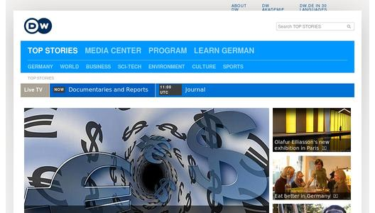 "Weitere Infos zu ""Deutsche Welle partners with dpa on a new multimedia foreign language service"""