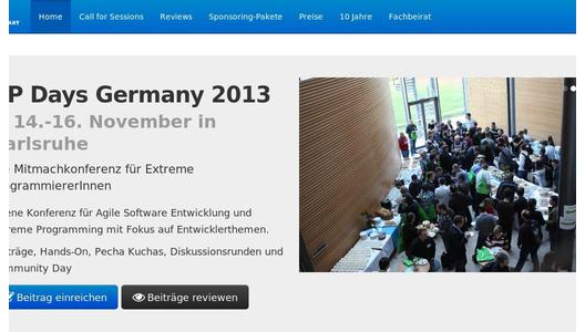 "Weitere Infos zu ""Call for Sessions und Reviews für die XP Days Germany 2013"""