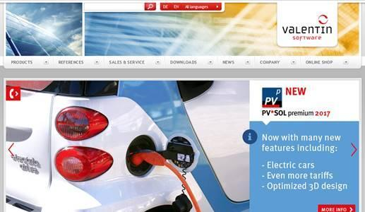 Visit us for further information on PV*SOL premium and PV*SOL