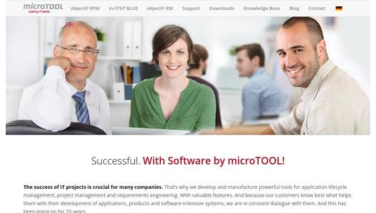 microTOOL software for ALM, RE and project management
