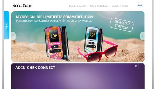 Accu Chek Mobile Neues Sticker Set Stimmt Auf Sommer Und
