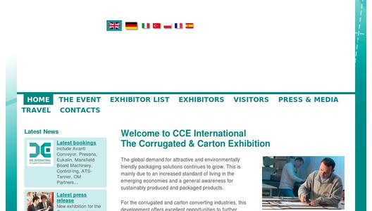More Information on CCE International 2013