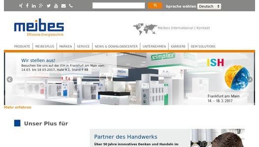 "Weitere Infos zu ""Three strong brands - Simplex, Meibes and Flamco - appear together at the ISH trade fair in Frankfurt from 14th to 18th March in hall 9.1 / F 48"""