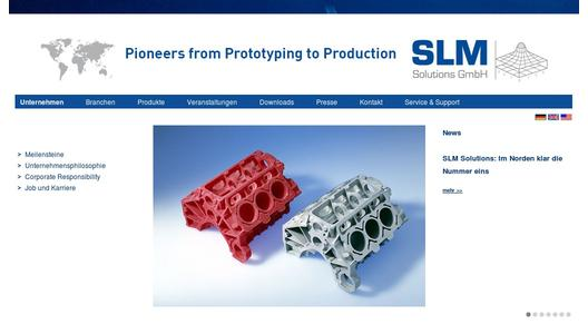 "Weitere Infos zu ""MAKS 2013: SLM Solutions is exhibiting systems for Additive Manufacturing on the  International Aviation & Space Salon in Moscow"""