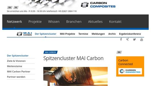 Homepage MAI Carbon