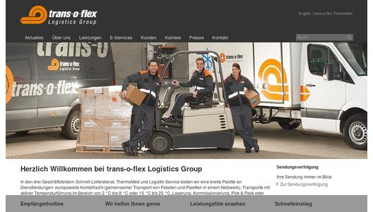 "Weitere Infos zu ""trans-o-flex with new Managing Director"""