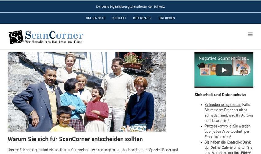 dias digitalisieren lassen mit manueller nachbearbeitung scancorner ag pressemitteilung. Black Bedroom Furniture Sets. Home Design Ideas